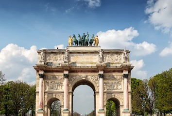 The Arc de Triomphe du Carrousel