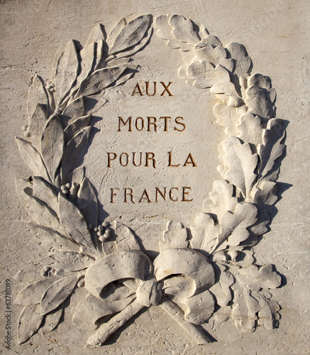 Monument aux morts de Giverny (France)