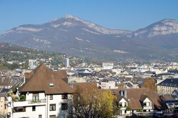 vue sur Chambéry
