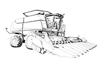 harvest illustration art drawing