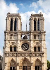 Cathedral Notre Dame in Paris