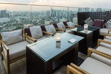 Bangkok bar rooftop