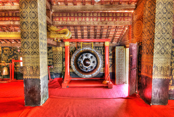 Temple Interior, Luang Prabang Laos