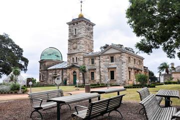 Historic building of the Sydney Observatory, Australia