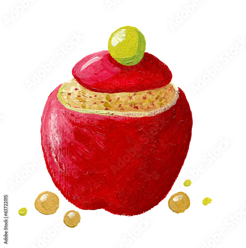 stuffed apple