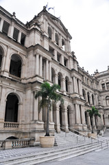 The former Queensland Government Treasury Building, Brisbane