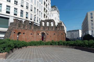 Milano - Piazza Missori - Cripta di San Giovanni in Conca
