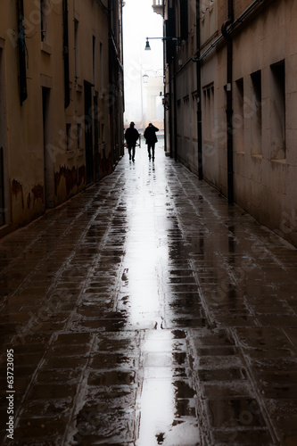 Rainy veiws around Venice