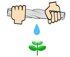 水一滴が地球を救う