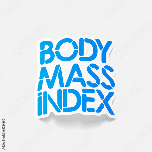 realistic design element: Body Mass Index