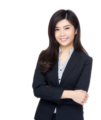 Asia business woman portrait