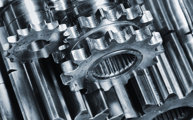 titanium and steel power gears for aerospace industry