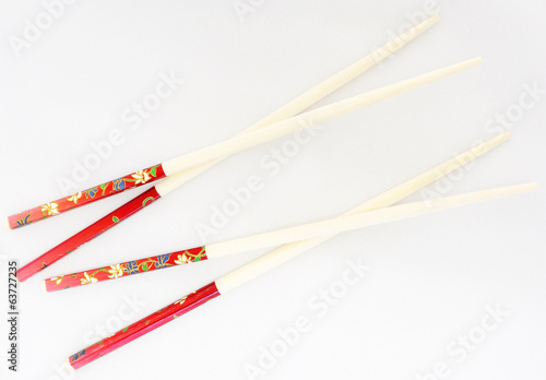 Pairs of chopsticks