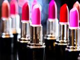 Fototapety Fashion Colorful Lipsticks. Professional Makeup and Beauty