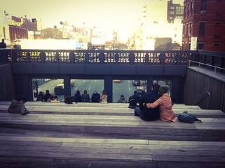 Mirador del High Line en Manhattan