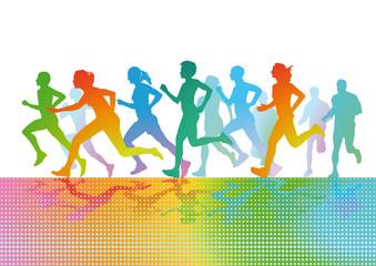 Sportlich laufen