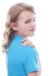 Kind mit Schulterschmerzen
