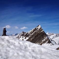 Aussicht in Obergurgl
