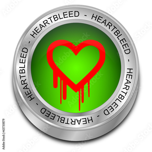 Heartbleed button