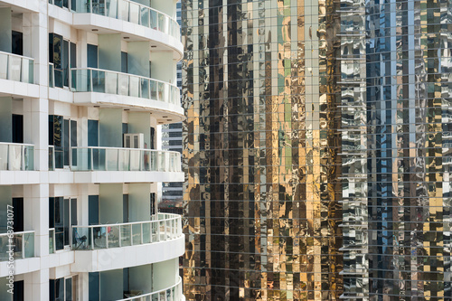 Residential apartments in Dubai, UAE.