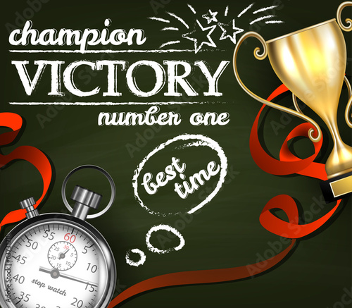 Victory background