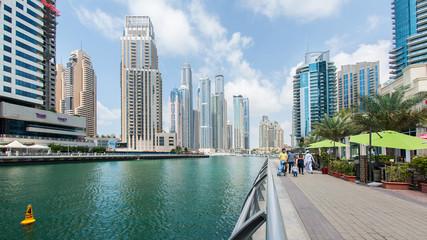 The Walk of Dubai Marina.
