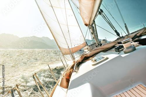 Yacht sailing - 63732839