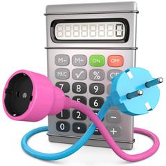 Taschenrechner Strompreis