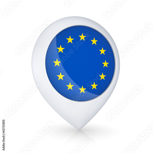 Icon with EU flag.