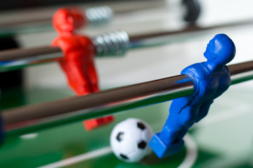 Adversary on table football