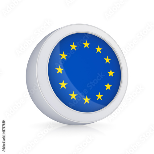 Icon with flag of EU.