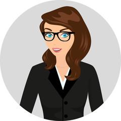 Businesswoman close-up