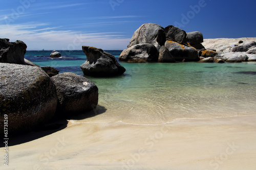 canvas print picture Boulders Beach