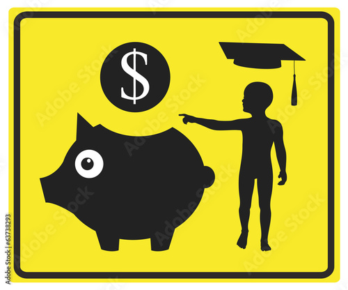 Money for education, financial plan for college