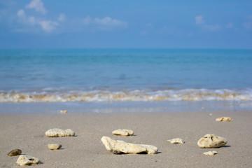 sea sand bluesky
