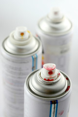 Acrylic lacquer spray