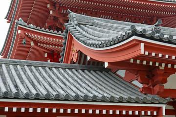 Sensoji Temple in Asakusa, Tokyo Japan