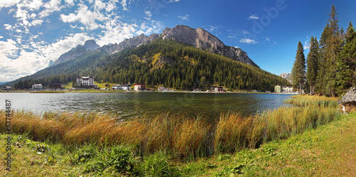 Lake in mountain - Misurina