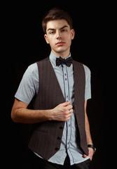 Man in waistcoat