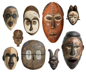 Masques africains - African masks