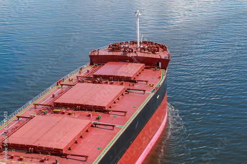 canvas print picture Bulk Carrier