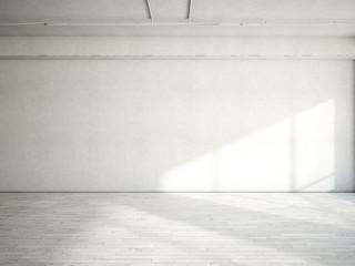 sunny white loft