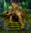 Magic house in the tree - 63748002