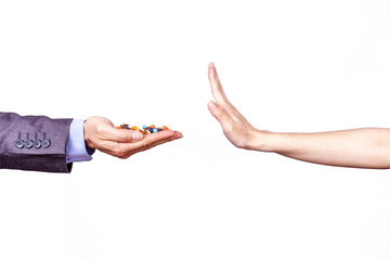 Hands And Medicine