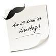 Постер, плакат: Memo Vatertag 2014