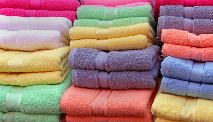 Towels pile