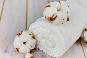 Baumwollhandtuch