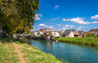 Rhone – Rhine Canal in Alsace, France