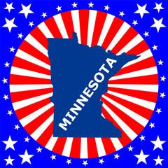 map of the U.S. state of Minnesota