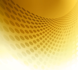 Gold circle background